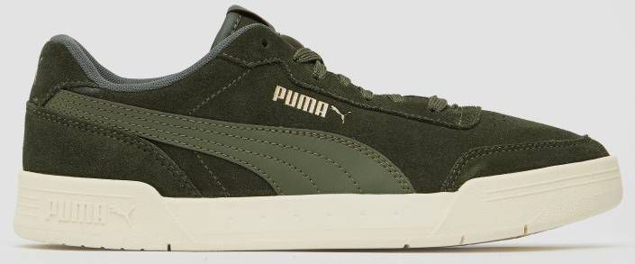 Puma Caracal SD suède sneakers grijsgroen online kopen