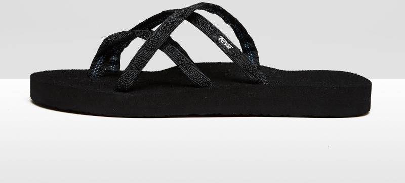 Teva Teenslipper Olowahu Dames Zwart online kopen