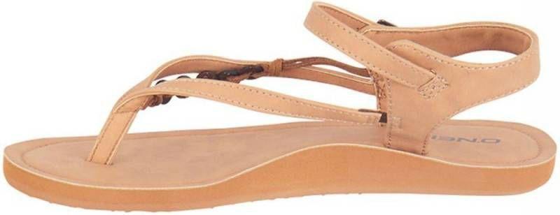 O'Neill Sandaal women batida coco light leather brown-schoenmaat 36 online kopen