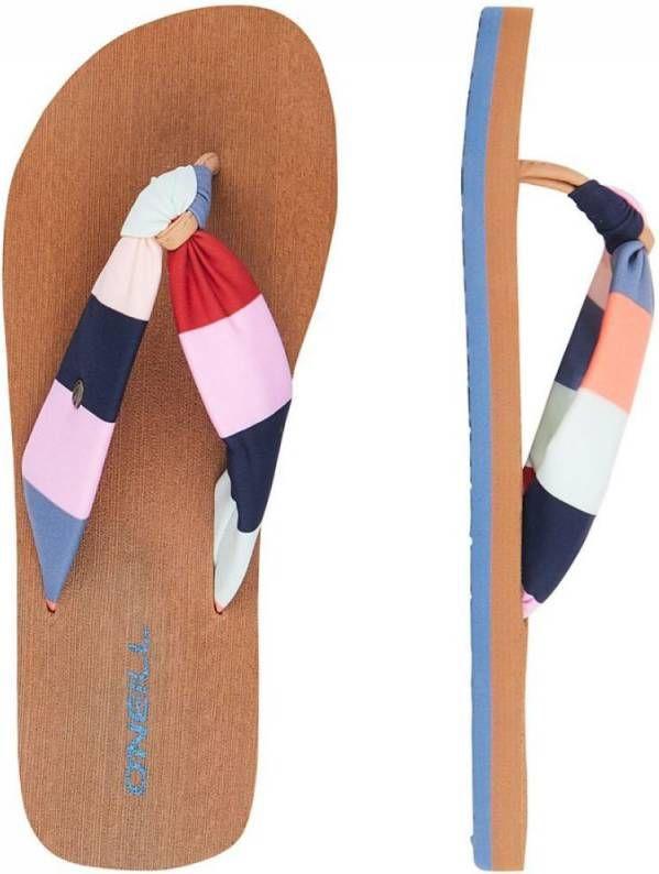 O'Neill Ditsy Sun Slipper Middenblauw/Assorti / Gemengd online kopen