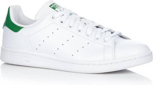 Adidas Originals Stan Smith Leren sneakers in wit en groen