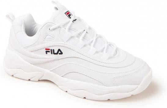 a7a1ad808e6 Lage Sneakers Fila ray low white/navy/red - Frontrunner.nl