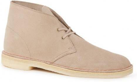 Boots en enkellaarsjes Clarks Originals Beige