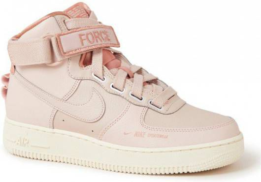 Nike Air Force 1 High Utility Dames Roze Dames - Vindjeschoen.nl