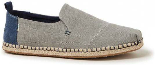 Toms Deconstructed Alpargata Rope Drizzle Grey Washed Canvas online kopen