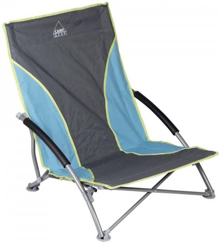 Strandstoel Kopen Blokker.Camp Gear Strandstoel Compact Blauw Grijs 1204781 Frontrunner Nl