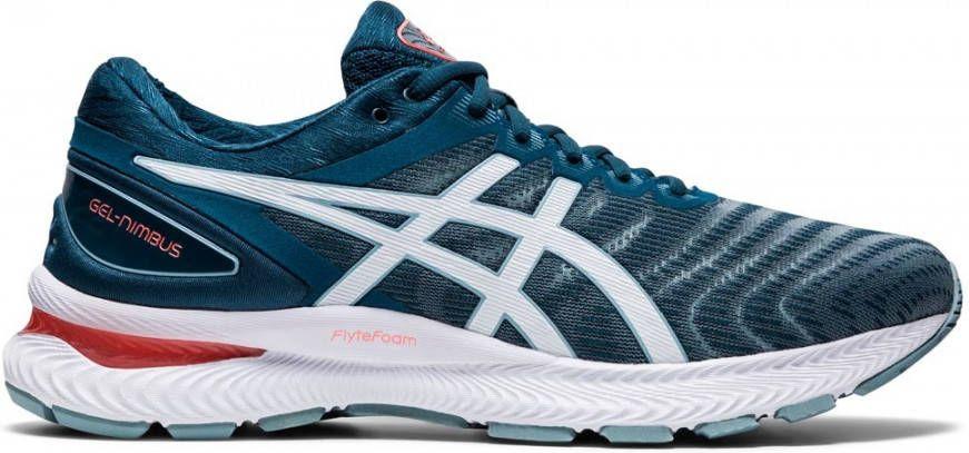 ASICS Gel-Nimbus 22 hardloopschoenen grijs/blauw online kopen