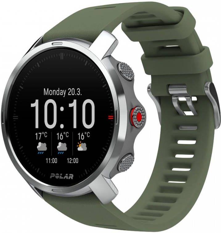 Polar Grit X Outdoor Multisport Horloge M/L Groen/Zilver online kopen