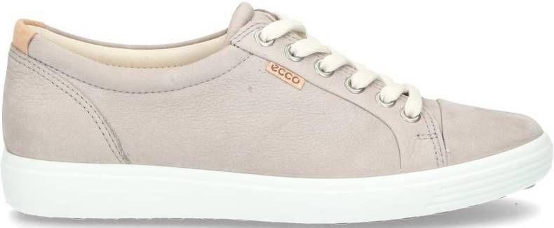 Ecco Soft 7 430003 01471 Blue Diffuse Blauw Sneaker
