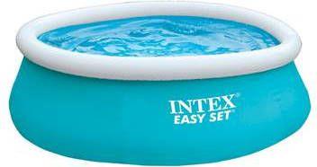 c5a3044ab38804 Easy Set zwembad rond blauw/wit Ø183cm diameter x 52cm hoog Intex wit  online kopen