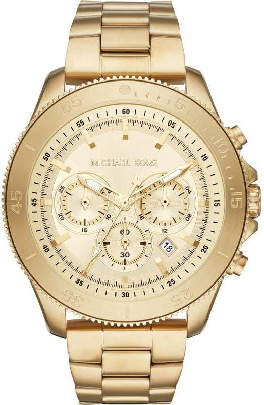 Michael Kors MK8666 Theroux Sportarmband & siliconen horloge 44.5mm