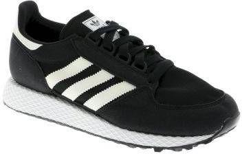 Adidas originals Forest Grove J suède sneakers zwartwit