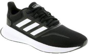 Adidas Performance Run Falcon hardloopschoenen zwart/wit kids online kopen