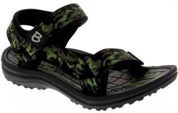 Braqeez Sky Sport sandalen camouflage groen online kopen