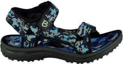 Braqeez Sky Sport sandalen camouflageprint blauw online kopen