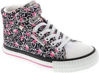 British knights DEE Baby meisjes hoge sneakers flamingo panterprint Panterprint maat 25 online kopen