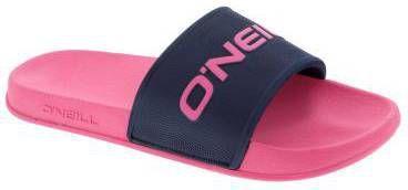 O'Neill Logo Slides Sandals slippers roze/blauw online kopen