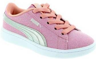 Roze Vikky V2 Glitz elastisch Puma maat 30