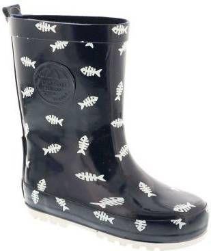 Shoesme Regenlaarzen Rubber Laars met Fleece Sock Blauw online kopen