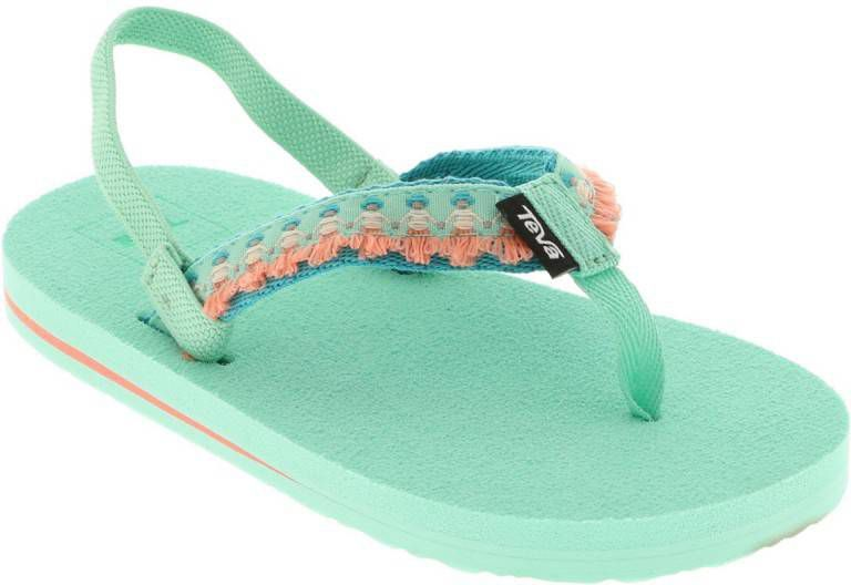Teva Mush II Toddler Slipper Junior Lime Vindjeschoen.nl