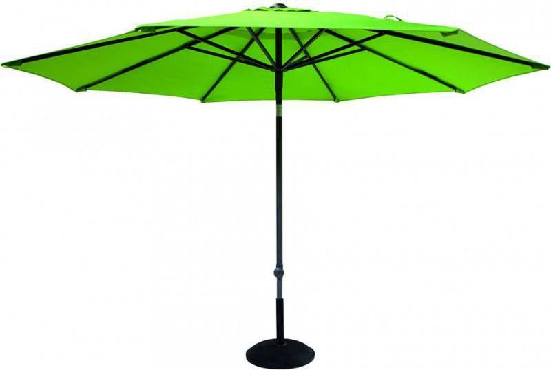 Hartman Parasol Solar Line R 300 Polyester.Hartman Parasol Solar Line 300cm Kleur Olijfgroen