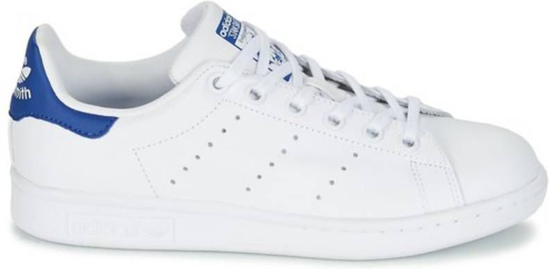 Adidas Originals Stan Smith sneaker voor tieners Wit Kind