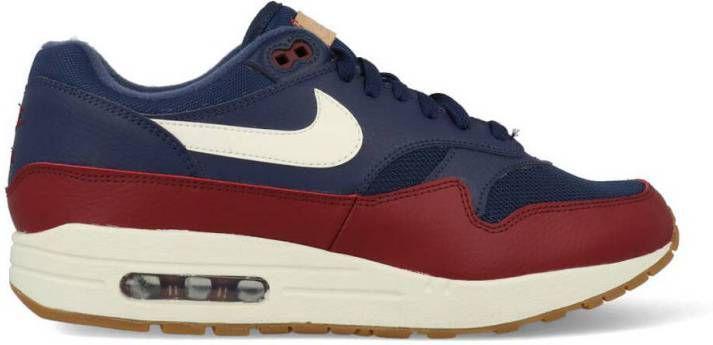 Nike Air Max 1 AH8145 400 Blauw Rood 42.5 maat 42.5