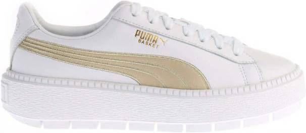 Witte Puma Platform Trace Varsity 367728 Sneakers
