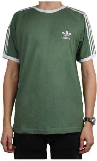 Adidas Originals California Short Sleeve T Shirt Heren Groen Heren