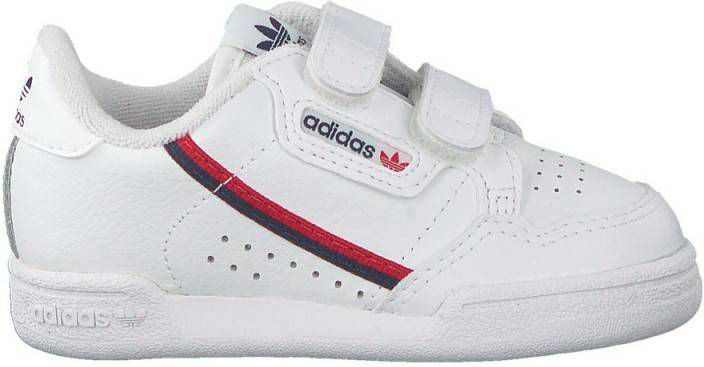 Adidas Originals Continental 80 CF I leren sneakers wit