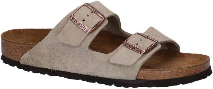Slippers model Arizona Van Birkenstock bruin