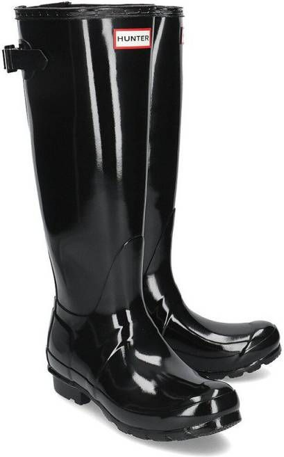 Hunter Original Gloss laarzen zwart online kopen | Luxe