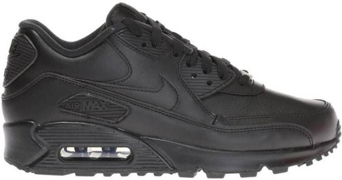 Nike Air Max 90 Leather Herenschoen Zwart