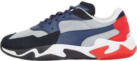 Puma Storm Orign sneakers zwartblauwgrijsrood