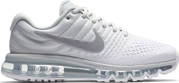 Nike Air Max 2017 Sneakers Dames wit Maat 38.5
