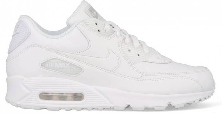 Nike Air Max 90 Leather 302519 113 Wit 44.5 maat 44.5