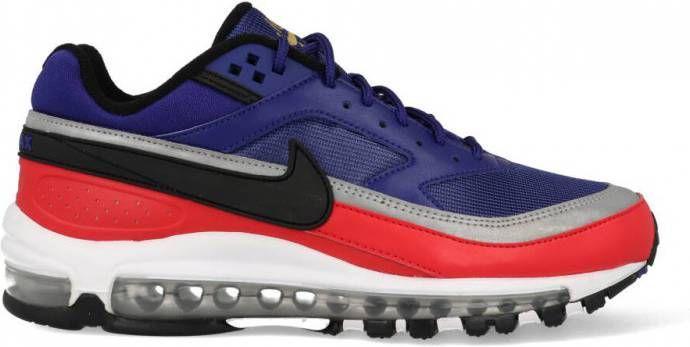 Nike Air Max 1 AH8145 400 Blauw Rood 41 maat 41