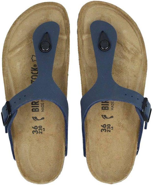 Birkenstock Gizeh slippers blauw