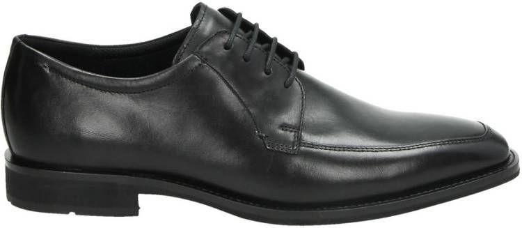 Ecco Calcan Lage nette schoenen voor heren Cognac