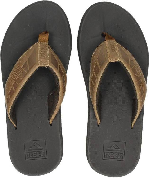 e4185b4d3ed19c Reef Phantom Le slippers bruin - Frontrunner.nl