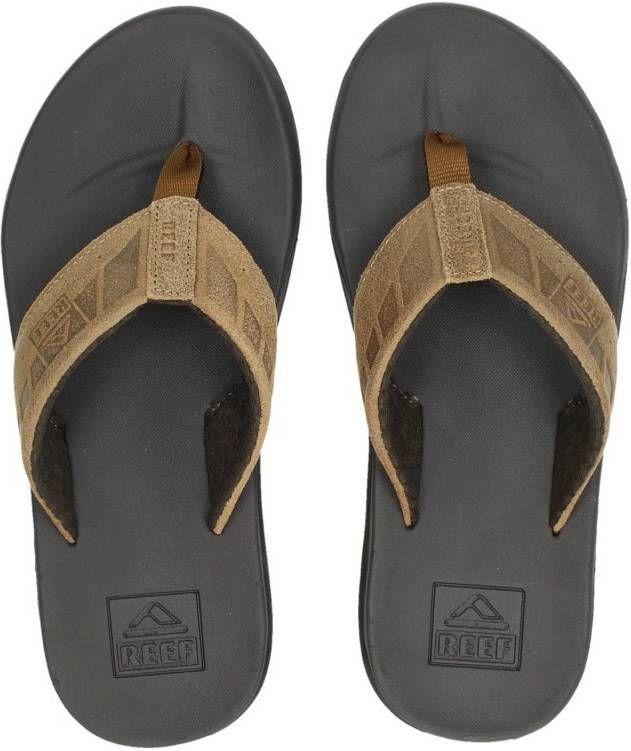 9266cf84869059 Reef Phantom Le slippers cognac - Frontrunner.nl