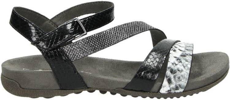 Tamaris sandalen met reptielenprint