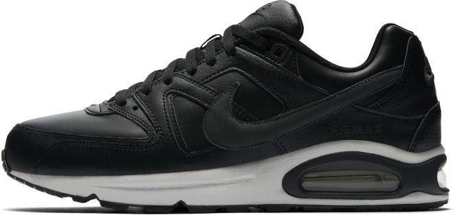 Zwarte Nike Sneakers Air Max Command Leather