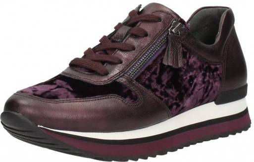 Gabor dames sneakers Bordeaux
