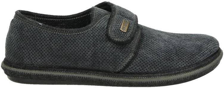 Nelson Home pantoffels antraciet online kopen