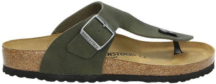 4afc437378d Birkenstock Ramses slippers groen - Frontrunner.nl