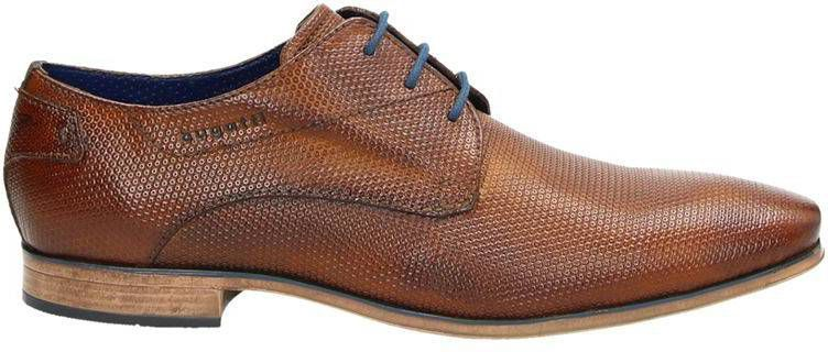Bugatti lage nette schoenen cognac online kopen