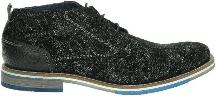 Bugatti lage nette schoenen zwart online kopen