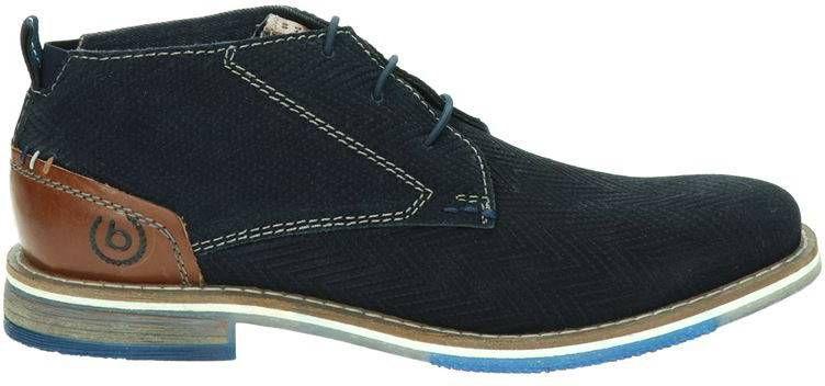 Bugatti veterschoenen donkerblauw online kopen