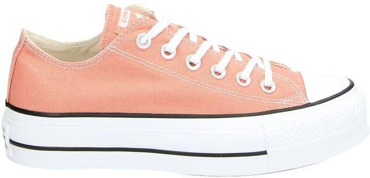 Converse Chuck Taylor All Star Lift platform sneakers roze